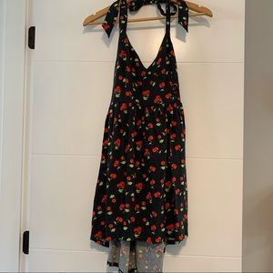Urban Outfitters   Cherry Halter Top Dress